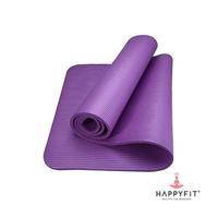 Happyfit Yogamat NBR Polos 10 mm Purple + Strap
