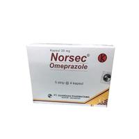 Norsec Kapsul 20 mg (1 Strip @ 4 Kapsul)