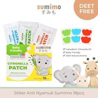 Sumimo Sticker Anti Nyamuk (18 Pcs)