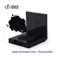 Inez Single Eyeshadow Color Charcoal Black