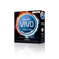 Vivo Kondom Sensitif Fire And Ice (3 Pcs)