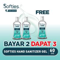 Softies Hand Sanitizer 60 mL - BUY 2 GET 1