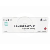 Lansoprazole Nufarindo Kapsul 30 mg (1 Strip @ 10 Kapsul)