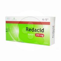 Redacid Kaplet 250 mg (1 Strip @ 6 Kaplet)