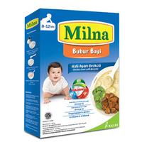 Milna Bubur Reguler 8 Bulan Hati Ayam Brokoli 120 g