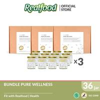 Realfood Pure Wellness Sugar Free Triple Bundle