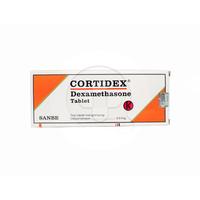 Cortidex Tablet 0,5 mg (10  Strip @ 10 Tablet)