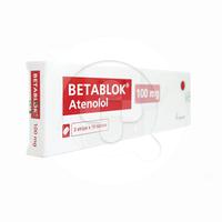 Betablok Tablet 100 mg (1 Strip @ 10 Tablet)