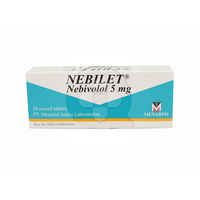 Nebilet Tablet 5 mg (1 Strip @ 14 Tablet)
