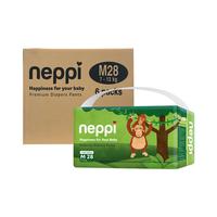 Neppi Premium Baby Diaper Pants M 28 - Karton (6 Pack)