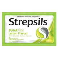 Strepsils Lemon Tablet Hisap (1 Sachet @ 8 Tablet Hisap)