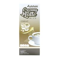 Ashitaki Creamy Latte Cokelat 120 g (5 x 24 g)