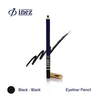 Inez Color Contour Plus Eyeliner Pencil Black-Black
