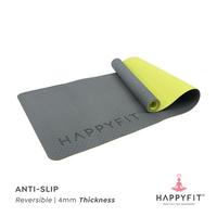 Happyfit Yogamat TPE 4 mm - Grey