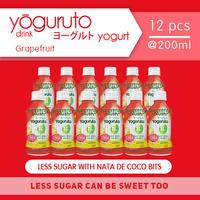 Heavenly Blush Yoguruto Botol Grapefruit 200 ml (12 Pcs)
