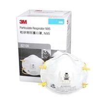 3M Particulate Respirator N95 - 8210v Mask (1 Box @ 10 Pcs)