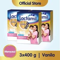 Paket 3 - Lactamil Lactasis Minuman Ibu Menyusui Vanila 400 g