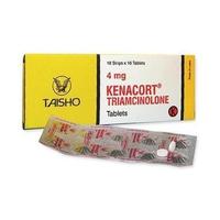 Kenacort Tablet 4 mg (10 Strip @ 10 Tablet)