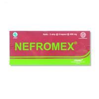 Nefromex Kapsul (1 Strip @ 6 Kapsul)