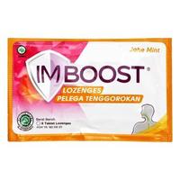 Imboost Lozenges Jahe Mint (1 Sachet @ 6 Tablet)