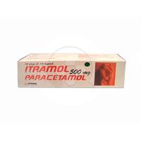 Itramol Kaplet 500 mg (1 Strip @ 10 Kaplet)