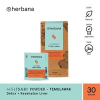 Herbana Relief Sari Powder Temulawak - 30 Sachet