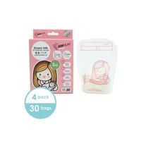 SUNMUM - 4 Bags Sunmum Breastmilk Storage Bags - Kantong ASI