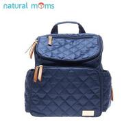 Natural Moms Diaper Bag - Navy