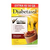 Diabetasol Susu Rasa Coklat Box - 600 g