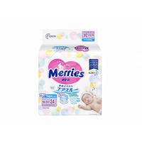 MERRIES Baby Diapers New Born 24'S
