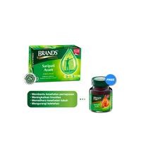 Brand's Saripati Ayam Original 42 g Free 1 Botol Brand's Cordyceps