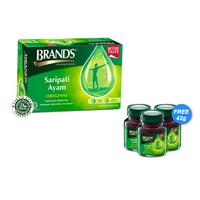 Brand's Saripati Ayam Original 42 g - Extra 3 Botol