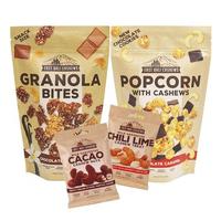 Paket Edisi East Bali Cashews 1 - EBC - Granola - Popcorn - Kacang Mede - Snack Sarapan Sehat