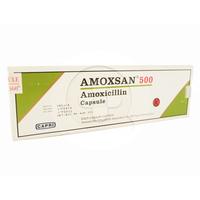 Amoxsan Kapsul 500 mg (1 Strip @ 10 Kapsul)