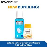 BETADINE Mouthwash and Gargle 100 mL & BETADINE Hand Sanitizer Manuka Honey 50 mL