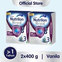 Paket 2 - Nutrilon Royal Prosyneo 3 Susu Pertumbuhan 1-3 Tahun Vanila 400g