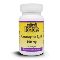 Natural Factors - Coenzyme Q10 100mg (30)