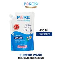 Pure Baby Wash Freshy 450 ml - Refill