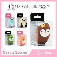 Madame Gie Blending Sponge - MakeUp Beauty Blender Spons - Tear Drop
