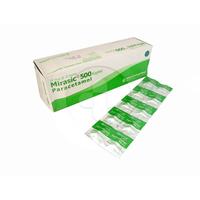 Mirasic Kaplet 500 mg (10 Strip @ 10 Kaplet)