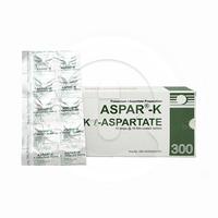 Aspar-K Tablet 300 mg (10 Strip @ 10 Tablet)