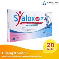 Syalox 300P Kaplet (1 Strip @ 20 Kaplet) - Suplemen Untuk Radang Sendi
