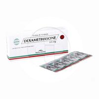 Dexamethason Kimia Farma Tablet 0,5 mg (1 Strip @ 10 Tablet)