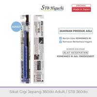 STB Higuchi 360do Brush Adult / Sikat Gigi Jepang - Blue