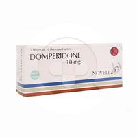 Domperidon Novell Tablet 10 mg (1 Strip @ 10 Tablet)