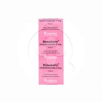 Renabetic Tablet 5 mg (1 Strip @ 10 Tablet)