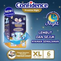 Confidence Popok Dewasa Premium Night XL 6