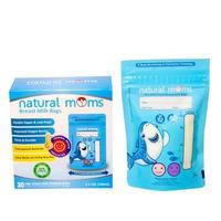 Natural Moms Kantong ASI 100 ml - Thermal Sensor - Blue Shark