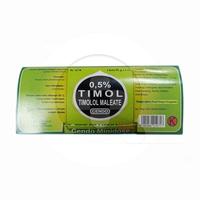 Cendo Timol 0,5% Minidose Tetes Mata 0,6 ml (1 Strip @ 5 Botol Plastik)