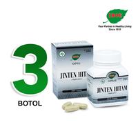 Jamu IBOE - 3 Botol Jinten Hitam Herbal Supplement 30 Kapsul